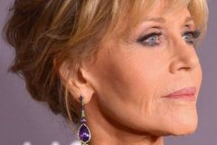 jane fonda pixie haircut over 60