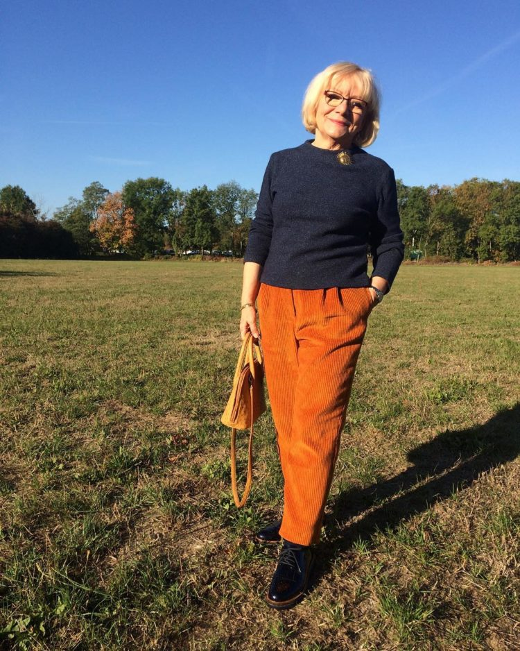 Что носить зимой 2018-2019 женщинам после 60 лет