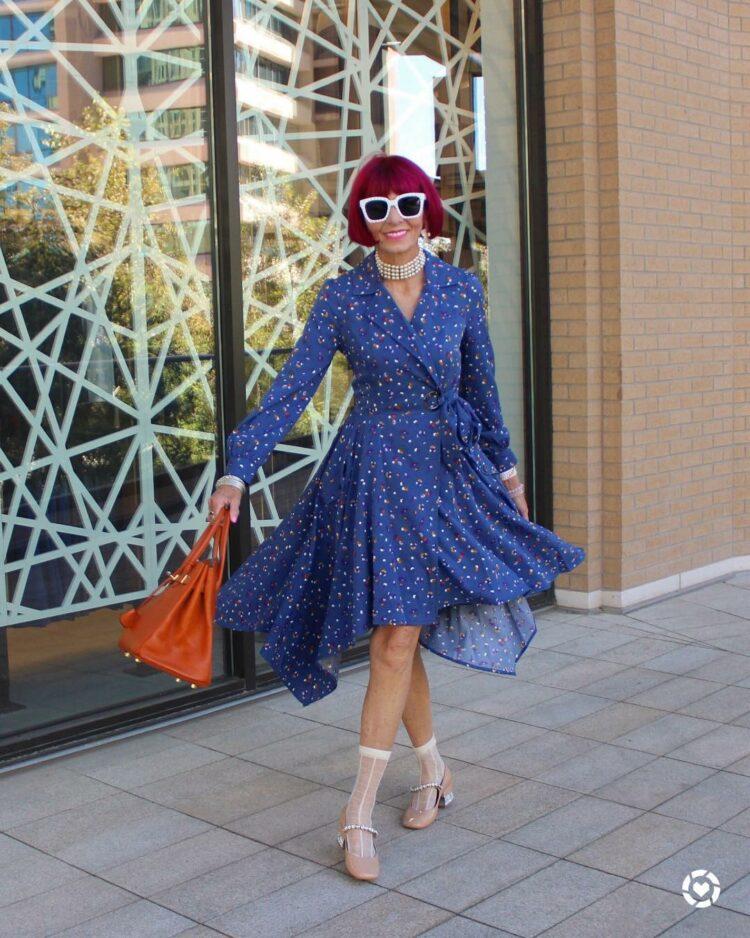 6 фасонов платьев для женщин за 50